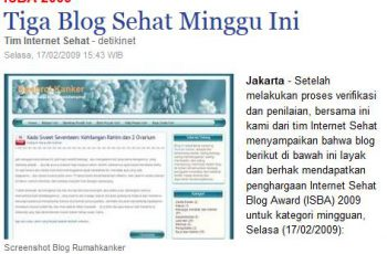 blog sehat