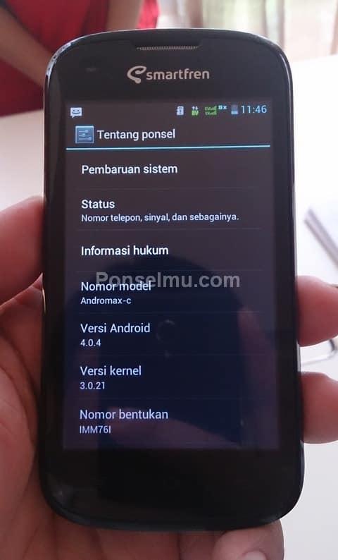 Smartfren Andromax C, Android Dual Core Murah Hanya 649rb