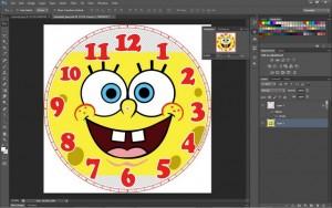 Membuat Jam dari CD Bekas