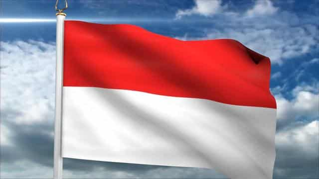 animasi bendera merah putih