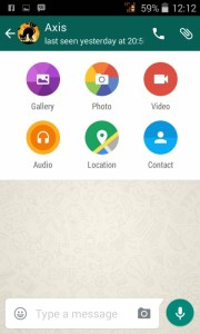 whatsapp material design 2