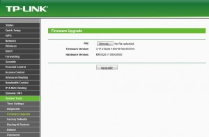 Upgrade tplink mr3020
