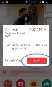 sewa google play movie 6