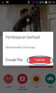 sewa google play movie 7