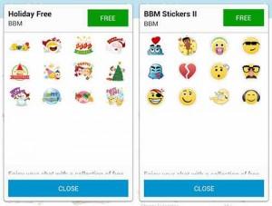 Download Stiker BBM Gratis Resmi