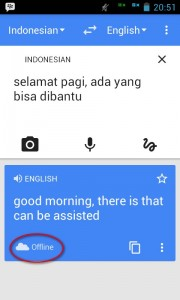 google translate offline 5