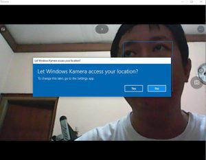 webcam windows 10 1