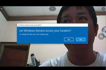 webcam windows 10 1