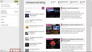 Tes Tampilan Responsive Themes Blog WordPress