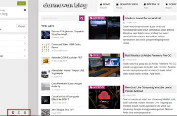 Preview Tampilan Blog di Semua Layar