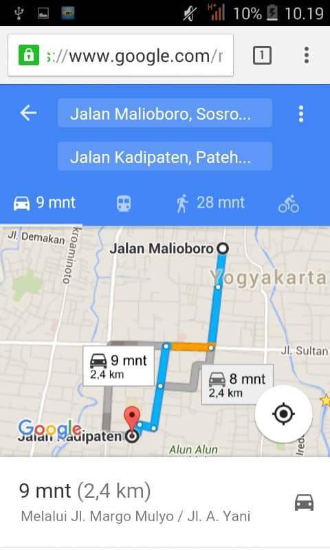 Cara Berbagi Lokasi dengan Google Maps 5