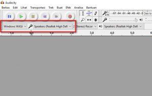 rekam suara speaker dengan audacity 4