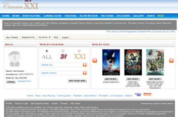 Daftar MTix XXI Secara Online 6