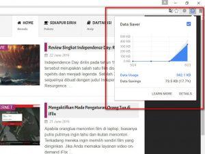 Hemat Data dengan Data Saver di Chrome