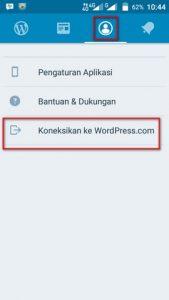Mengganti Gravatar dari Aplikasi WordPress Android