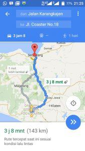 Tips Memakai Google Maps Saat Mudik