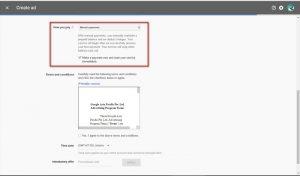 Membayar AdWord dengan Transfer Bank 1