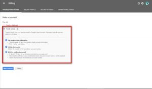 Membayar AdWord dengan Transfer Bank 3