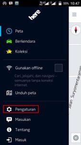 Mengubah Bahasa Navigasi Here Maps Android
