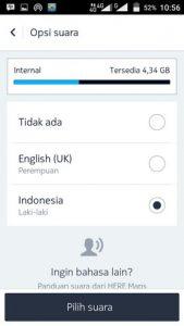 Mengubah Bahasa Navigasi Here Maps Android 3