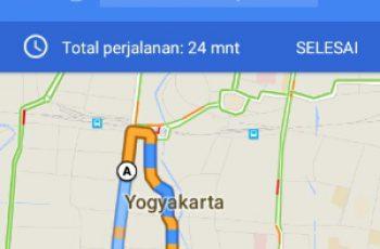 Menambahkan Beberapa Rute Tujuan di Google Maps