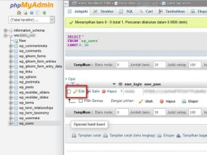 Ganti Password Blog WordPress Lewat Cpanel 3