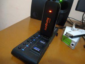 Mencoba Modem 4G Alcatel L100V 1
