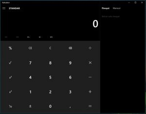themes gelap di windows 10 2