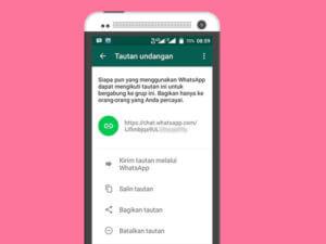 Gabung Grup Whatsapp Lewat Tautan