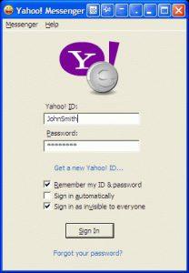 Yahoo Messenger Versi Lama Tinggal Kenangan