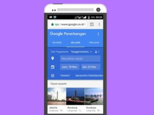 Cari Tiket Pesawat Murah Lewat Google Flight