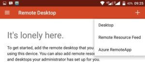 Remote Windows 10 dengan Microsoft Remote Desktop di Android