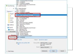 Supaya File Corel Draw Bisa Dibuka di Semua Versi