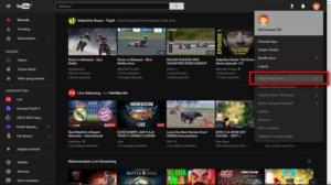 Mengaktifkan Tema Gelap Di Youtube Versi Baru