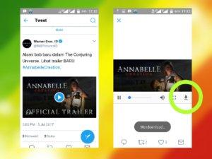 cara mudah download video Twitter di ponsel