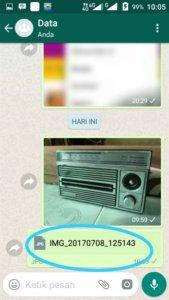 Mengirim Foto dengan Ukuran Asli di Whatsapp