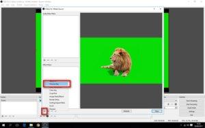Menggunakan Green Screen di OBS Studio
