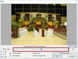 Meluruskan Foto Miring dengan FastStone