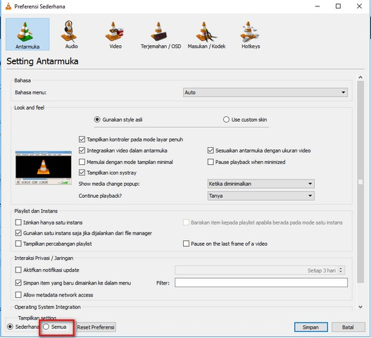 Remote VLC Lewat Browser