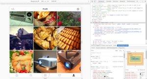 Upload Foto Instagram Lewat Browser Chrome Desktop