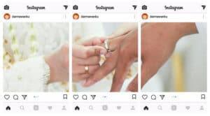 Membuat Foto Panorama di Instagram dengan InSwipe