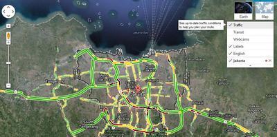 traffic google maps