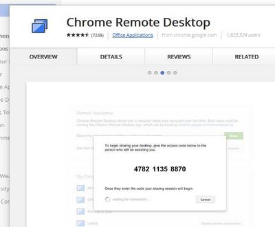 chrome remote
