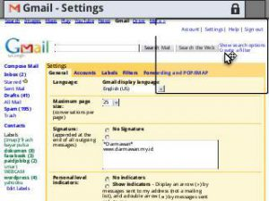 gmail basic setting