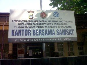 Alamat Samsat DIY