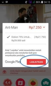 sewa google play movie 4