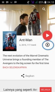sewa google play movie 9