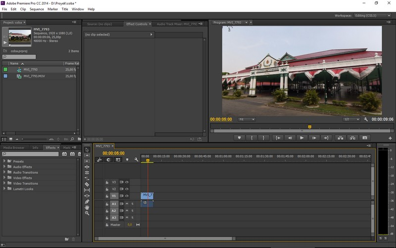 how to move the sequence adobe premiere pro