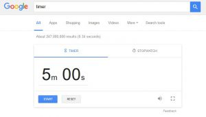 timer google 1