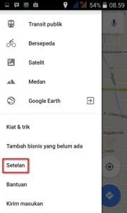 Memperbesar Suara Navigasi Google Maps